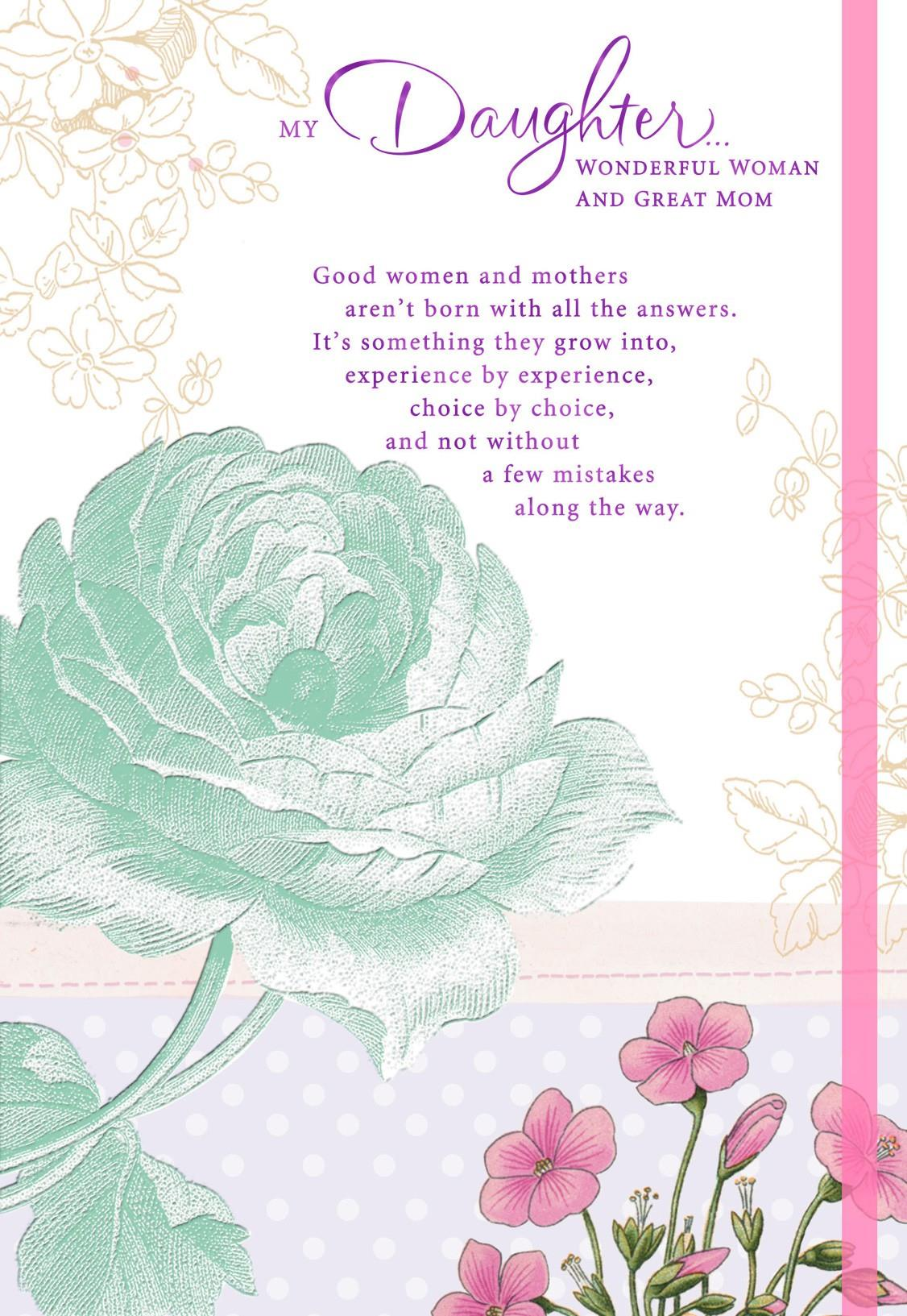 Youre a remarkable mother mothers day card for daughter youre a remarkable mother mothers day card for daughter kristyandbryce Images