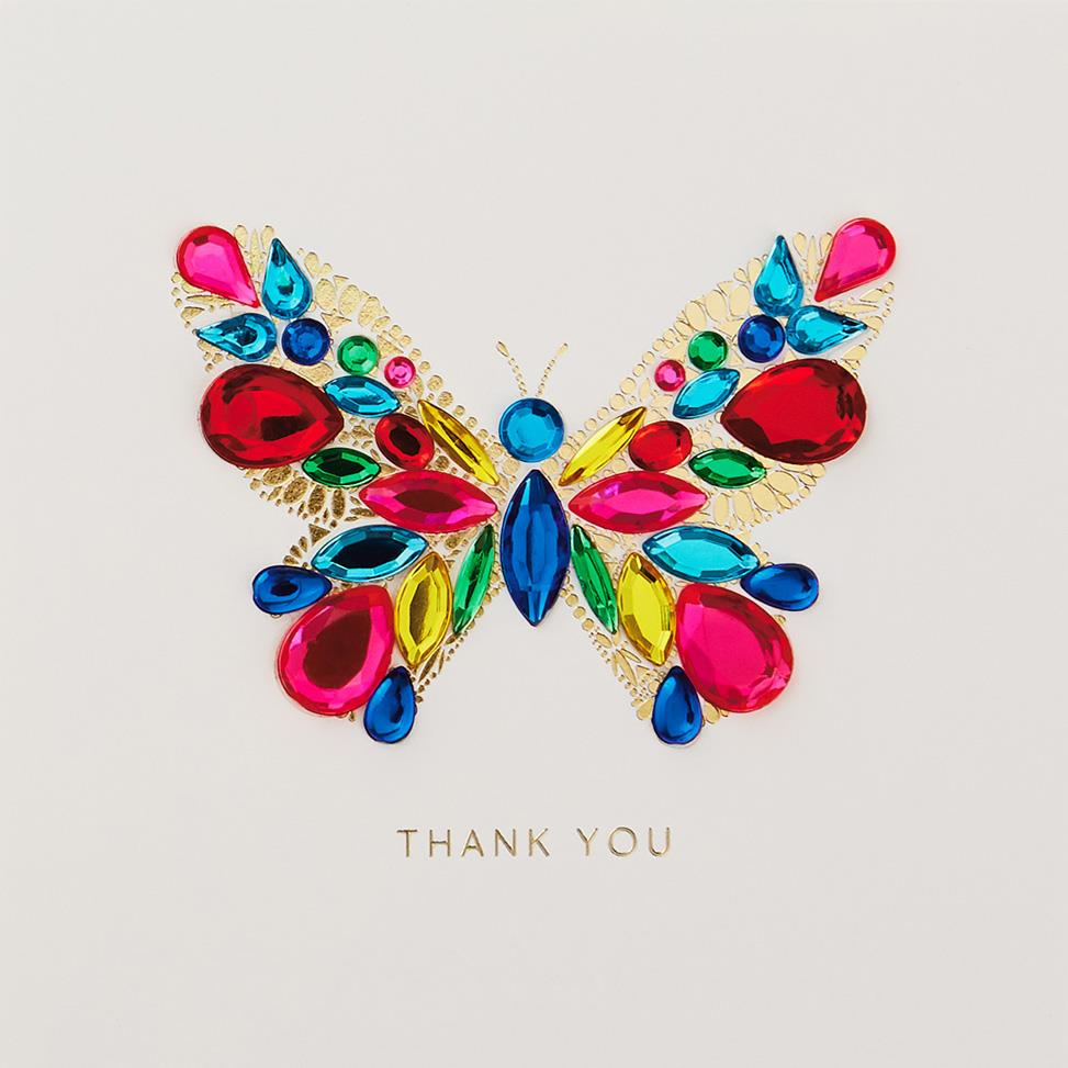 Beautiful Butterfly Thank You Card Greeting Cards Hallmark