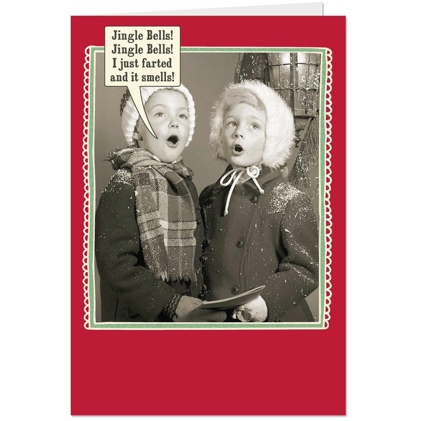 Who Farted Funny Christmas Card Greeting Cards Hallmark