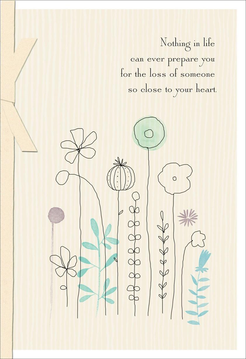 Your Loved One Is At Peace Sympathy Card Greeting Cards