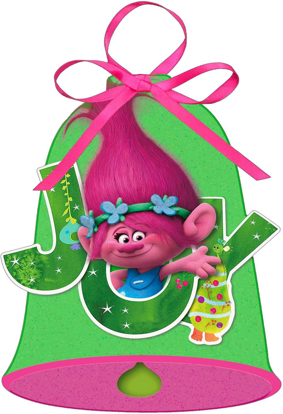 Dreamworks Trolls Poppy Bell Christmas Card Greeting Cards Hallmark