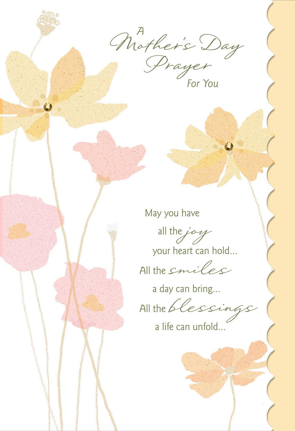 A prayer for you religious mothers day card greeting cards hallmark a prayer for you religious mothers day card m4hsunfo