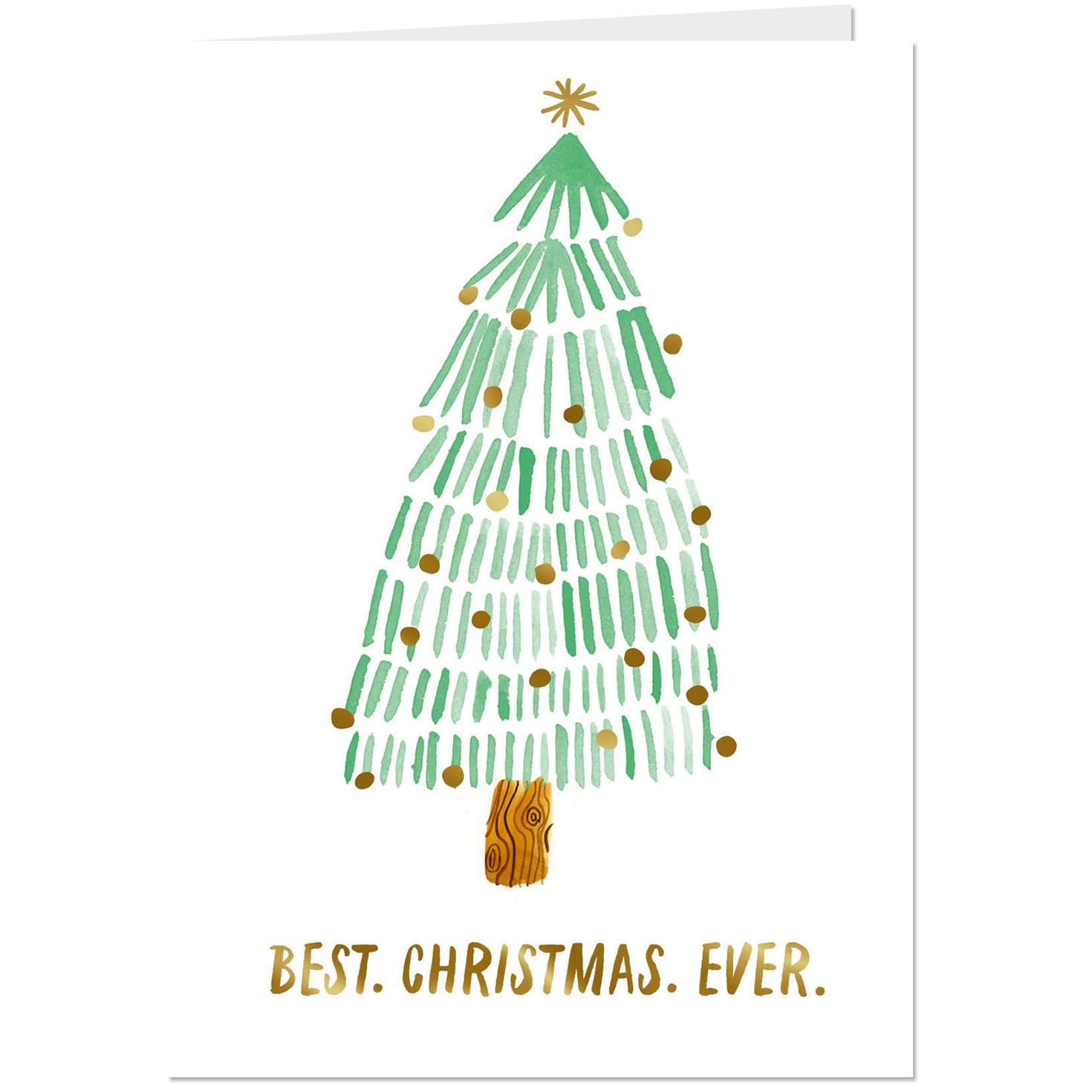 best christmas ever fir tree christmas card - Best Christmas Cards Ever