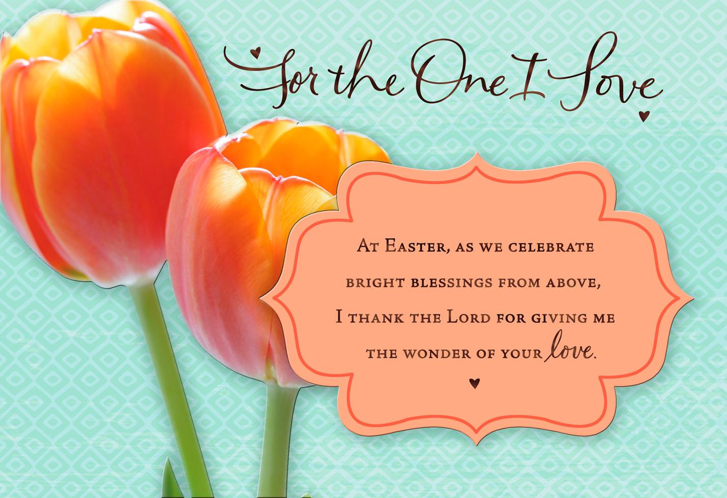 Precious love romantic easter card greeting cards hallmark precious love romantic easter card kristyandbryce Images