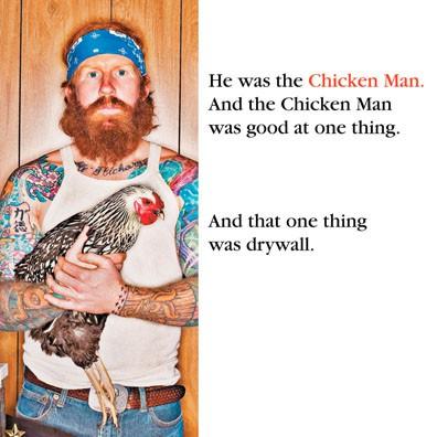 The Chicken Man Funny Birthday Card Hallmark