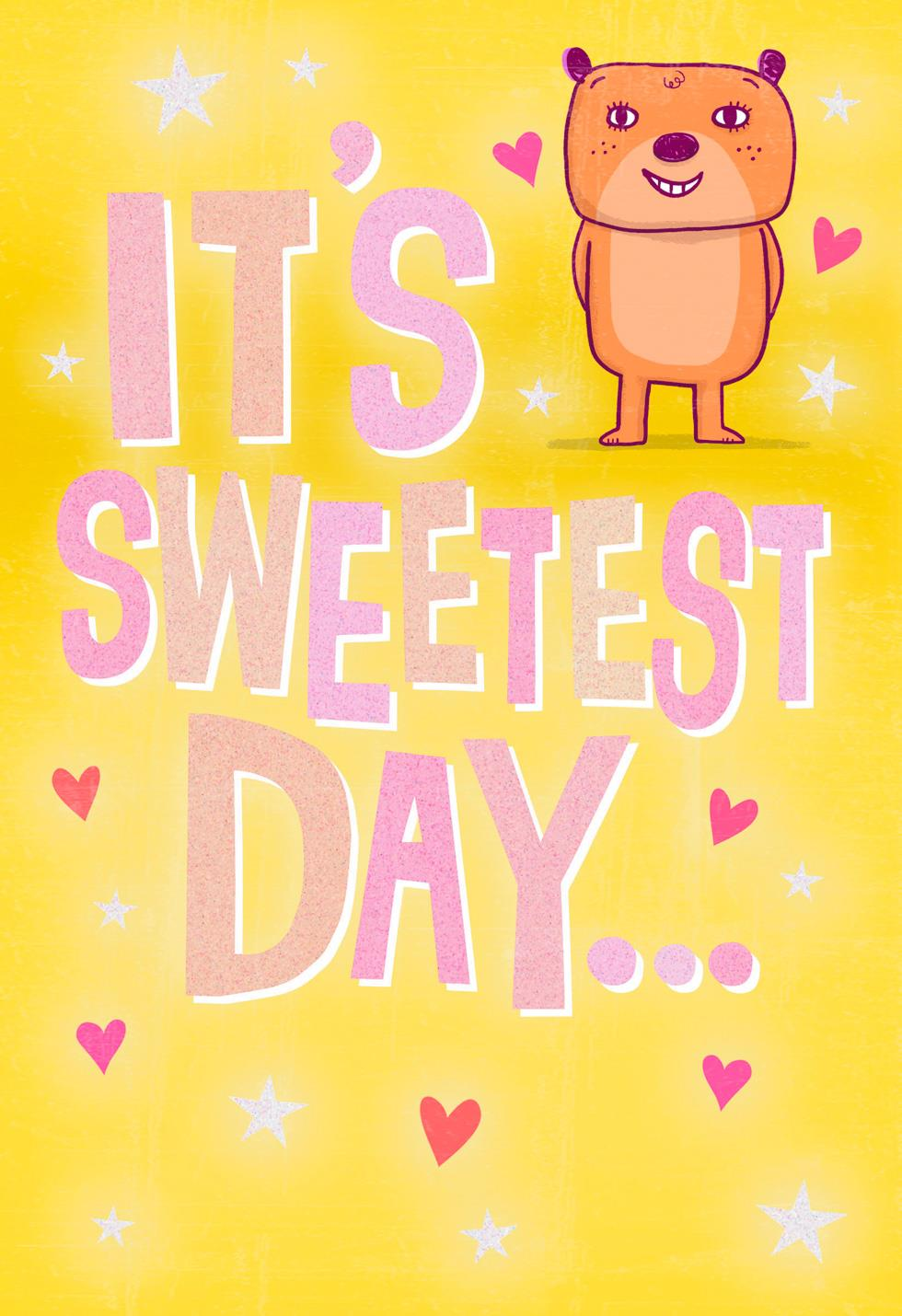 Love You This Smooch Romantic Sweetest Day Card Greeting