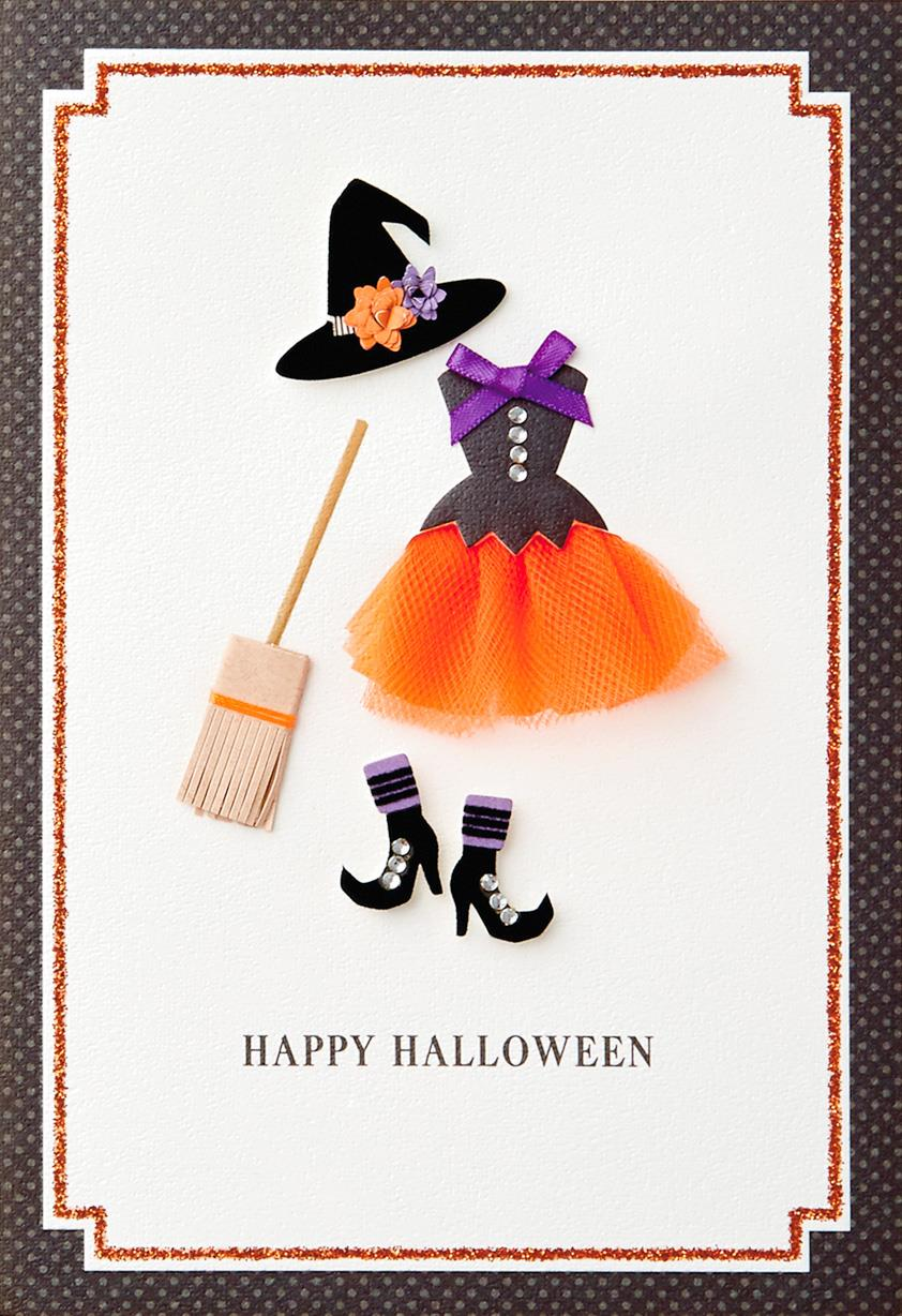 Witch S Clothes Halloween Card Greeting Cards Hallmark
