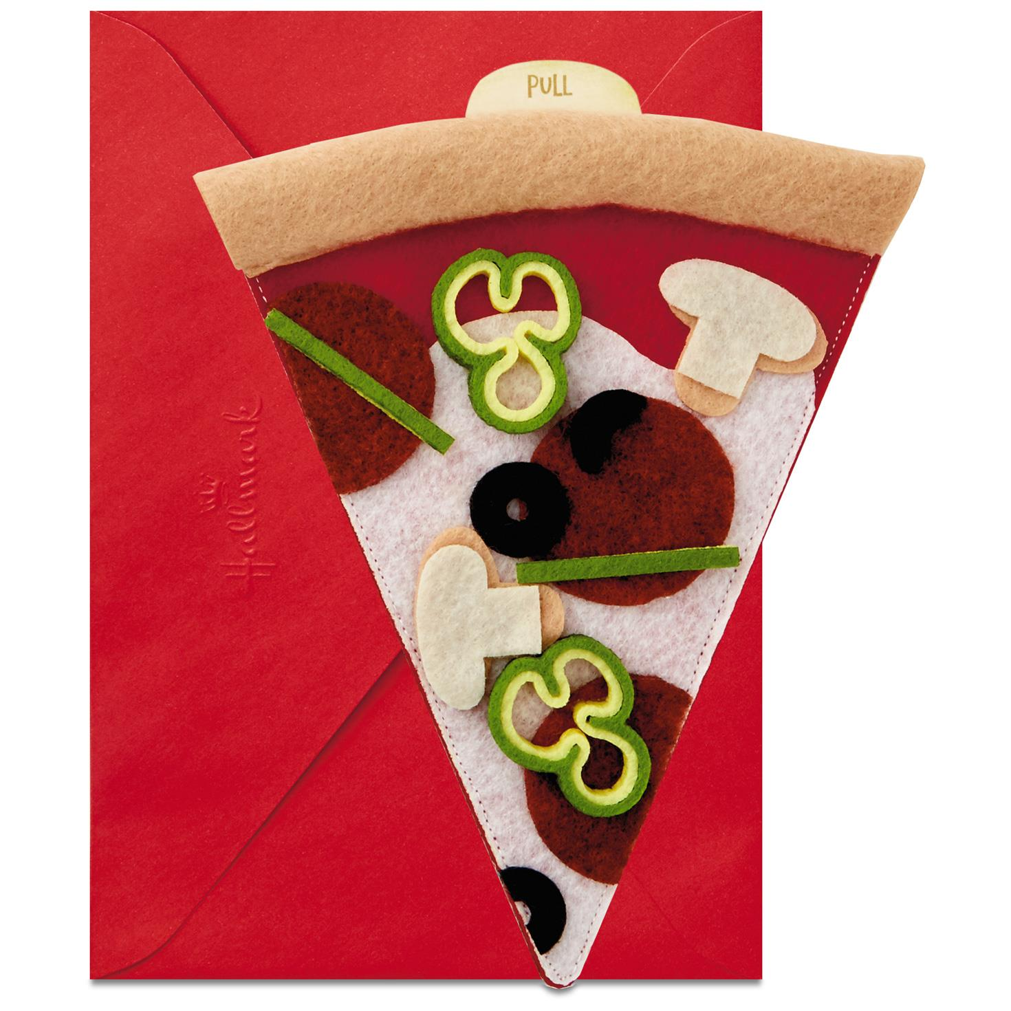 Pizza My Heart Birthday Card Greeting Cards Hallmark