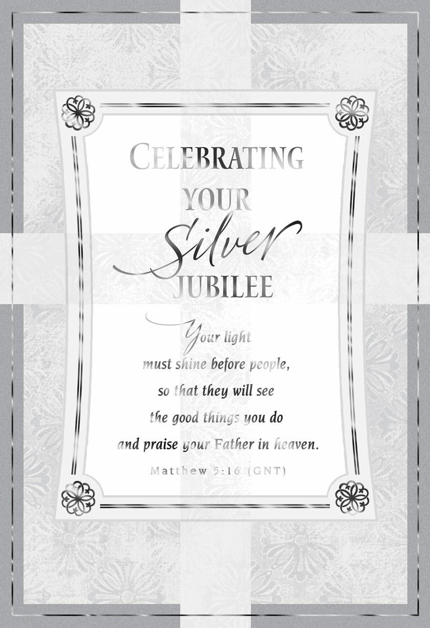 Gods Special Calling Silver Jubilee Card Greeting Cards Hallmark
