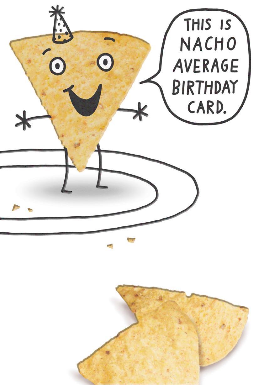 Awesome Nacho Chip Funny Birthday Card Greeting Cards Hallmark Personalised Birthday Cards Arneslily Jamesorg