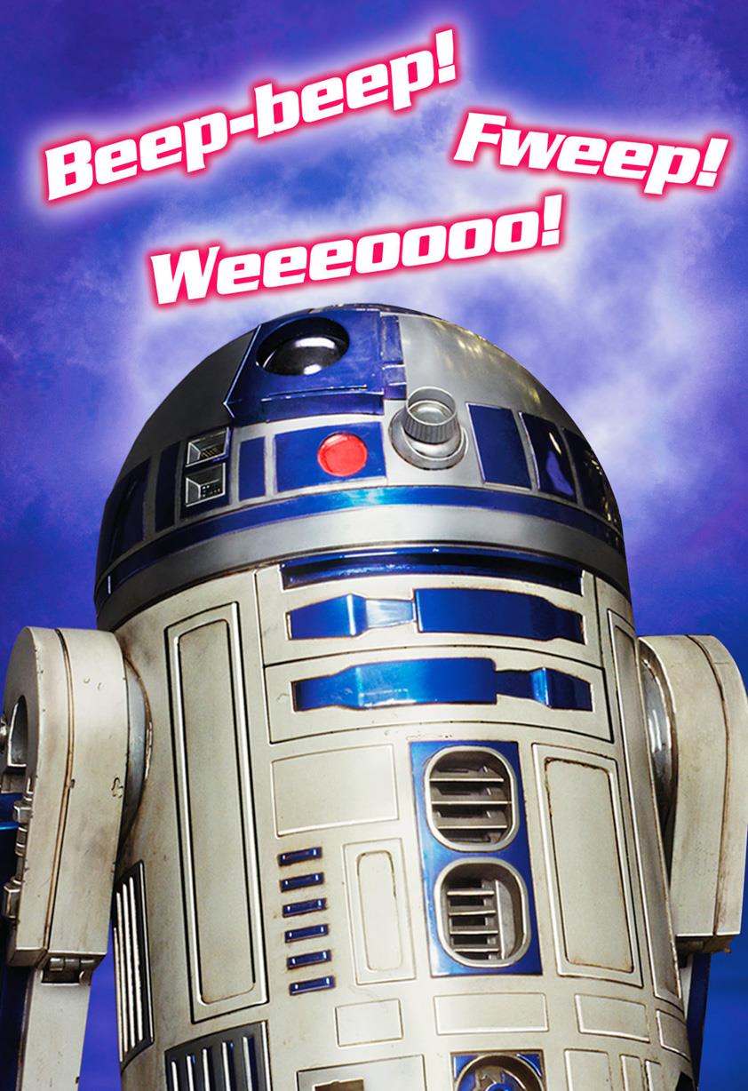 Star wars r2 d2 musical valentines day card greeting cards star wars r2 d2 musical valentines day card bookmarktalkfo Choice Image