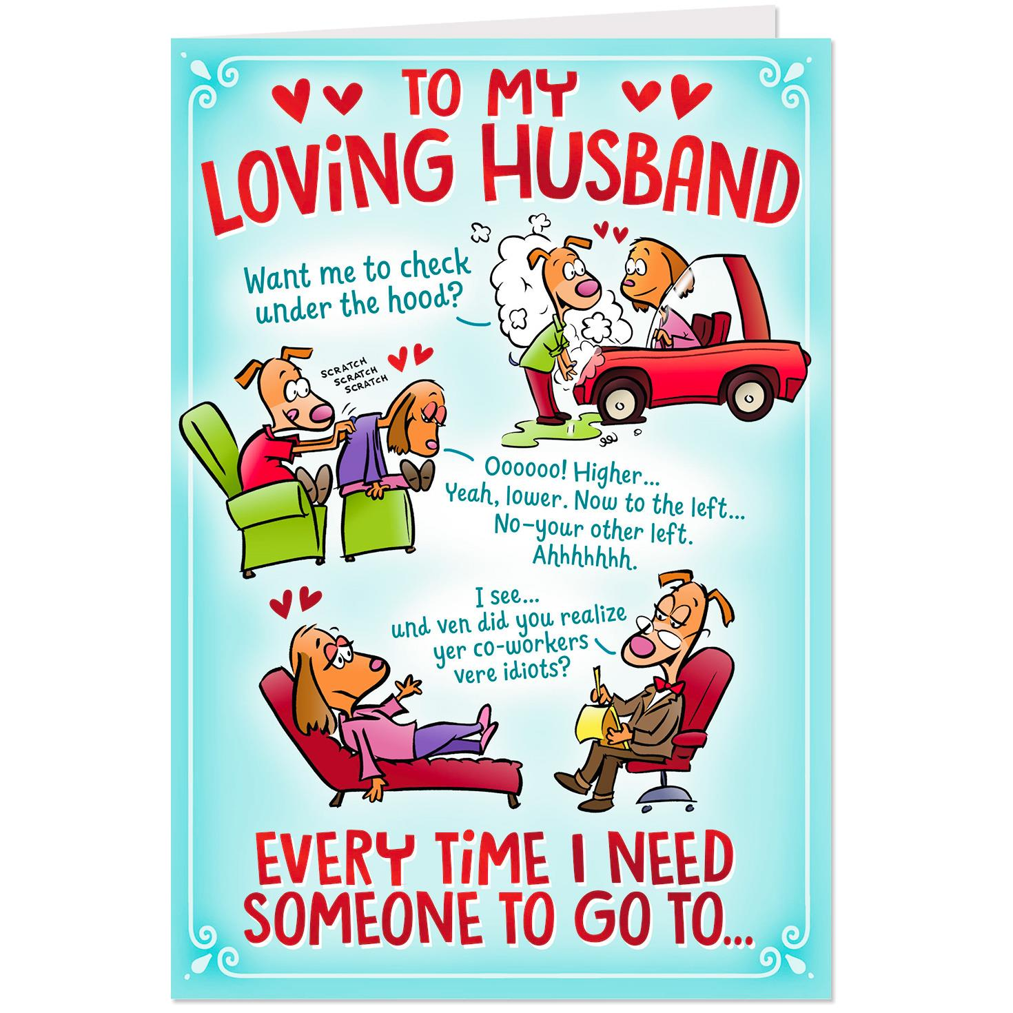 you're my goto guy birthday card for husband  greeting