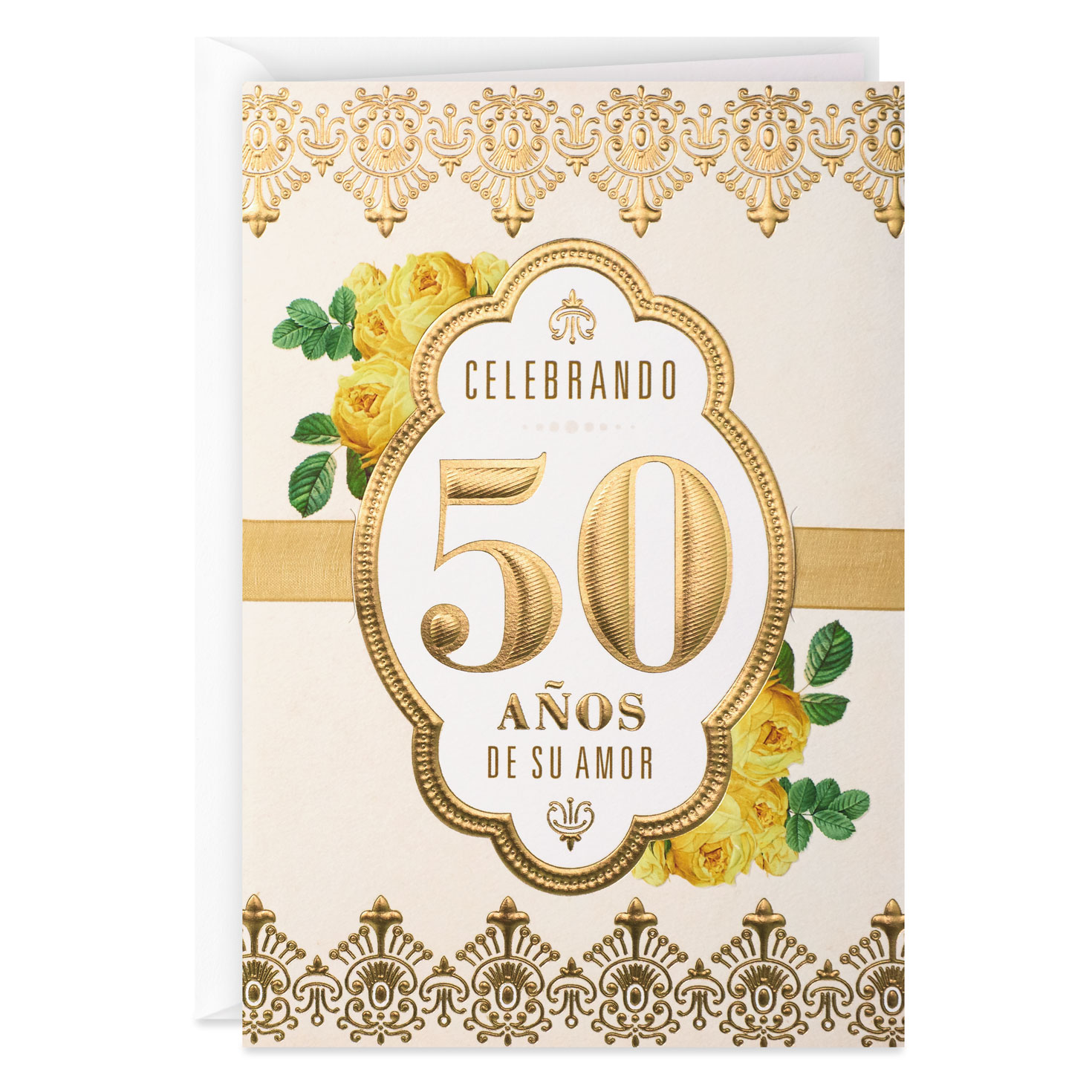 a beautiful promise spanishlanguage 50th anniversary card