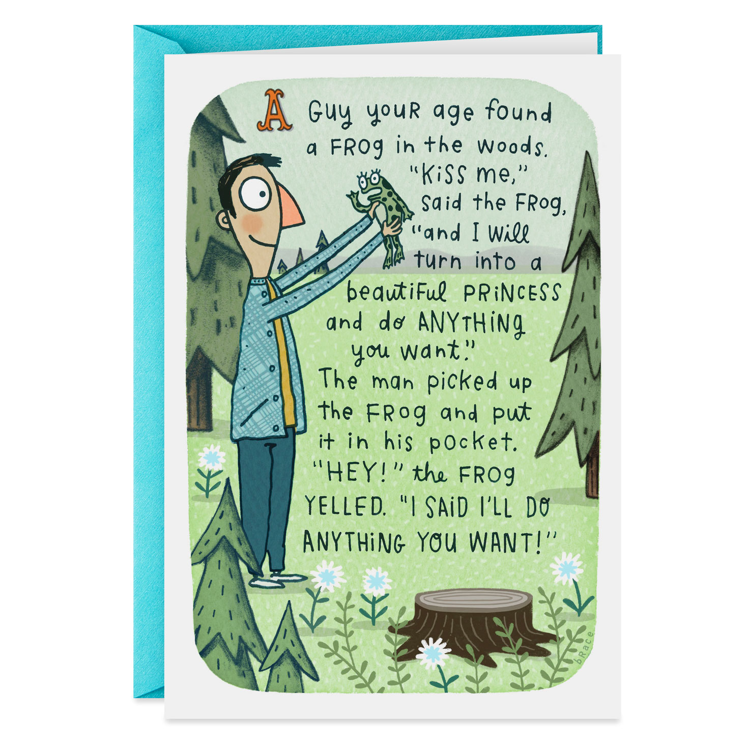 Birthday Cards Near Me.A Man Your Age Funny Birthday Card For Him