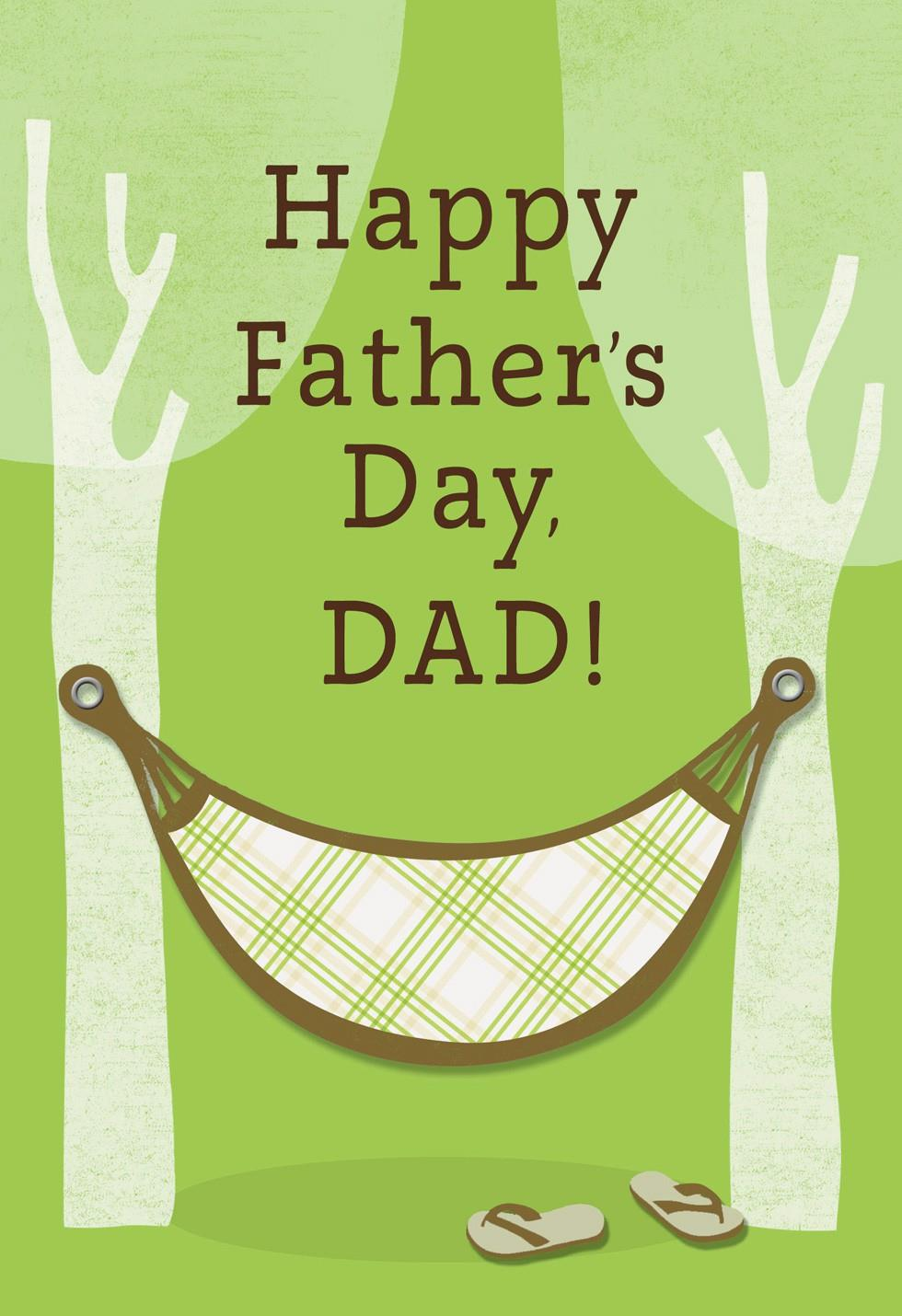 Tree Hammock Father S Day Card Greeting Cards Hallmark