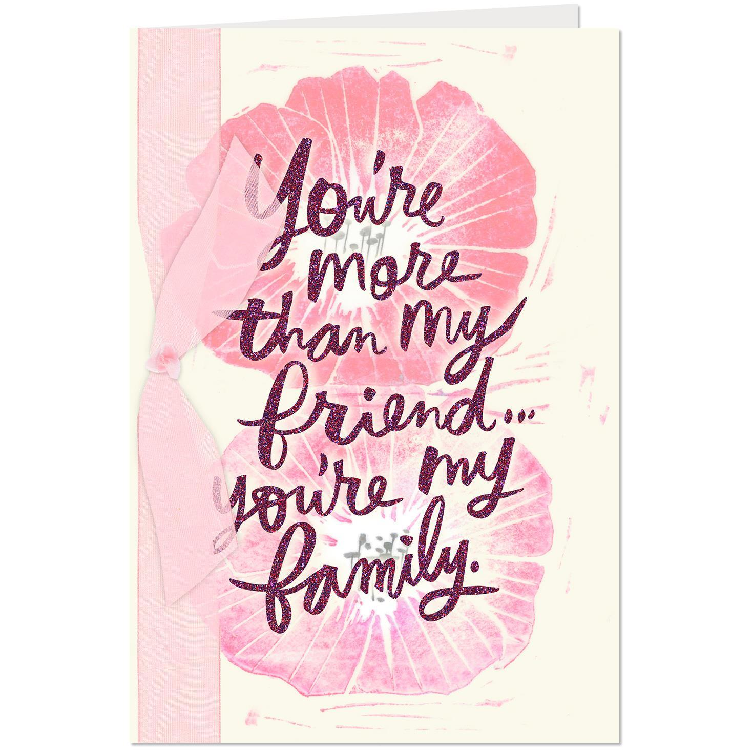 Friend Like Family Birthday Card Greeting Cards Hallmark