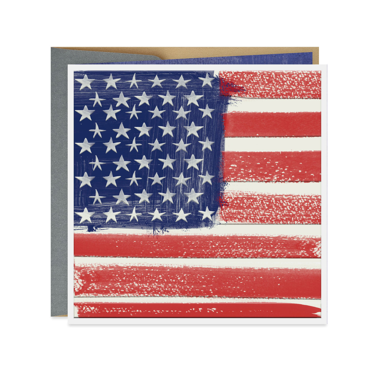 picture relating to United States Flag Printable referred to as American Flag Blank Card