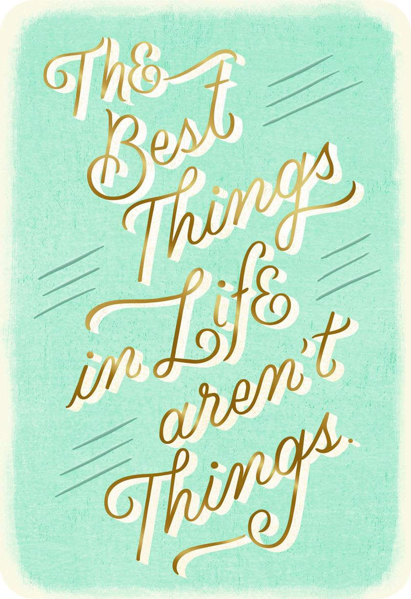 Best Things In Life Friendship Card Greeting Cards
