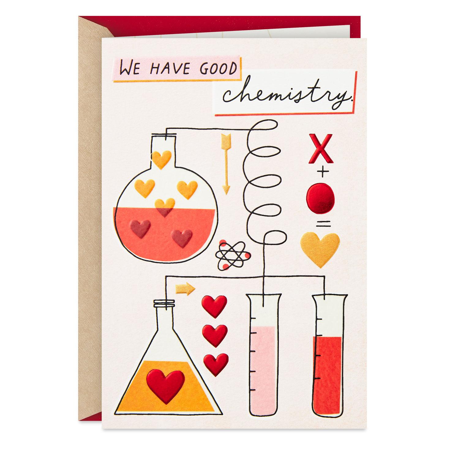 Good Chemistry Romantic New Relationship Valentines Day