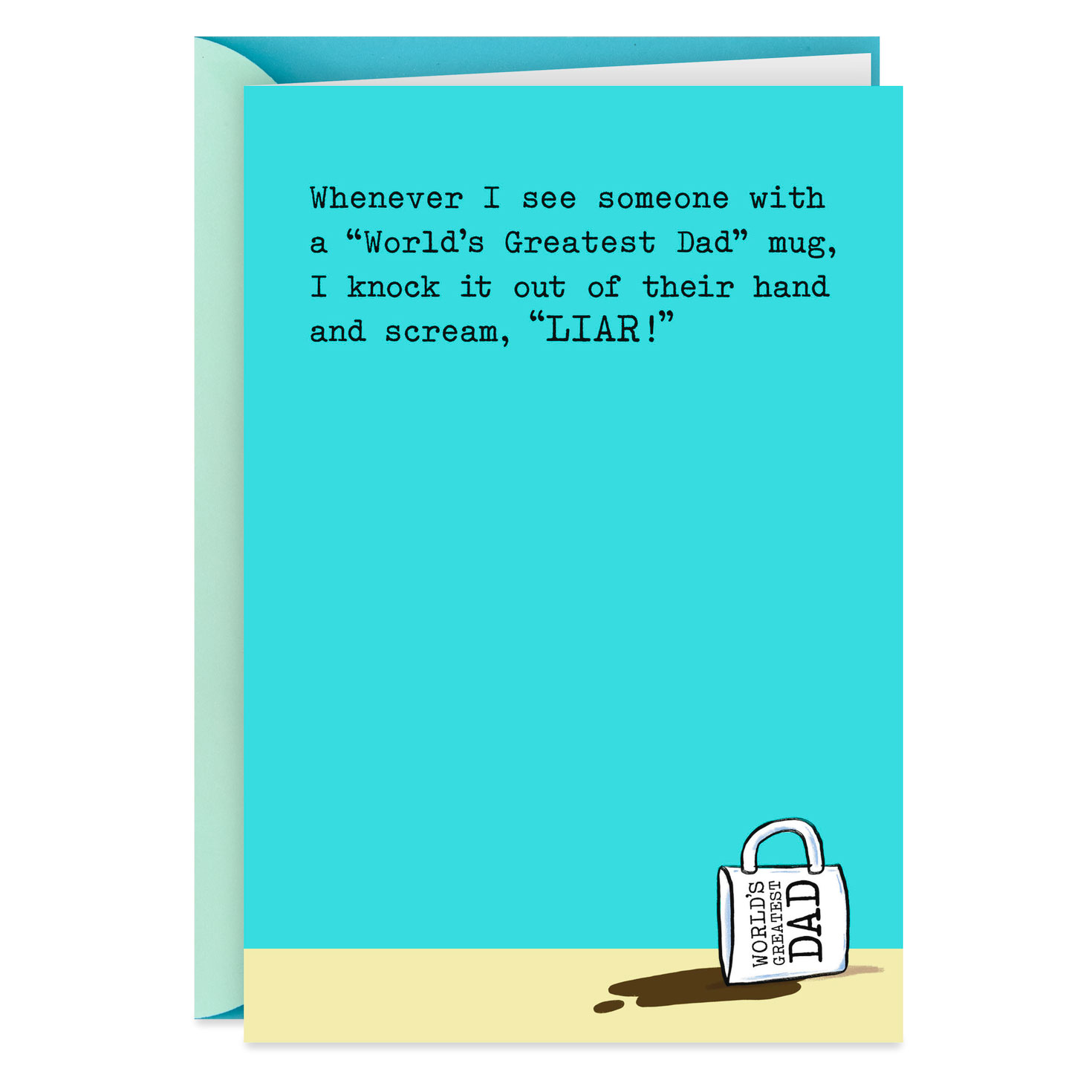 World's Greatest Dad Mug Funny Father's Day Card ...