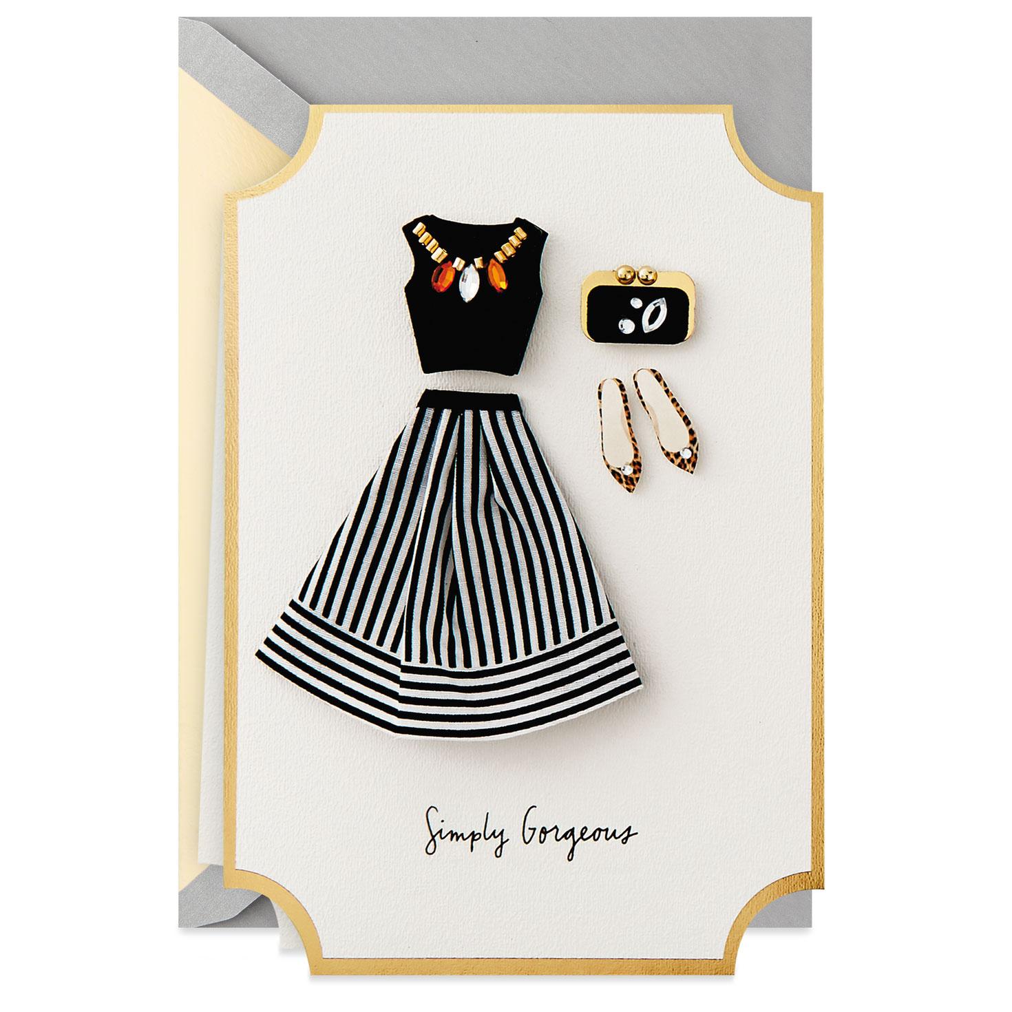 a43ec2f17fd3f6 Simply Gorgeous Birthday Card - Greeting Cards - Hallmark