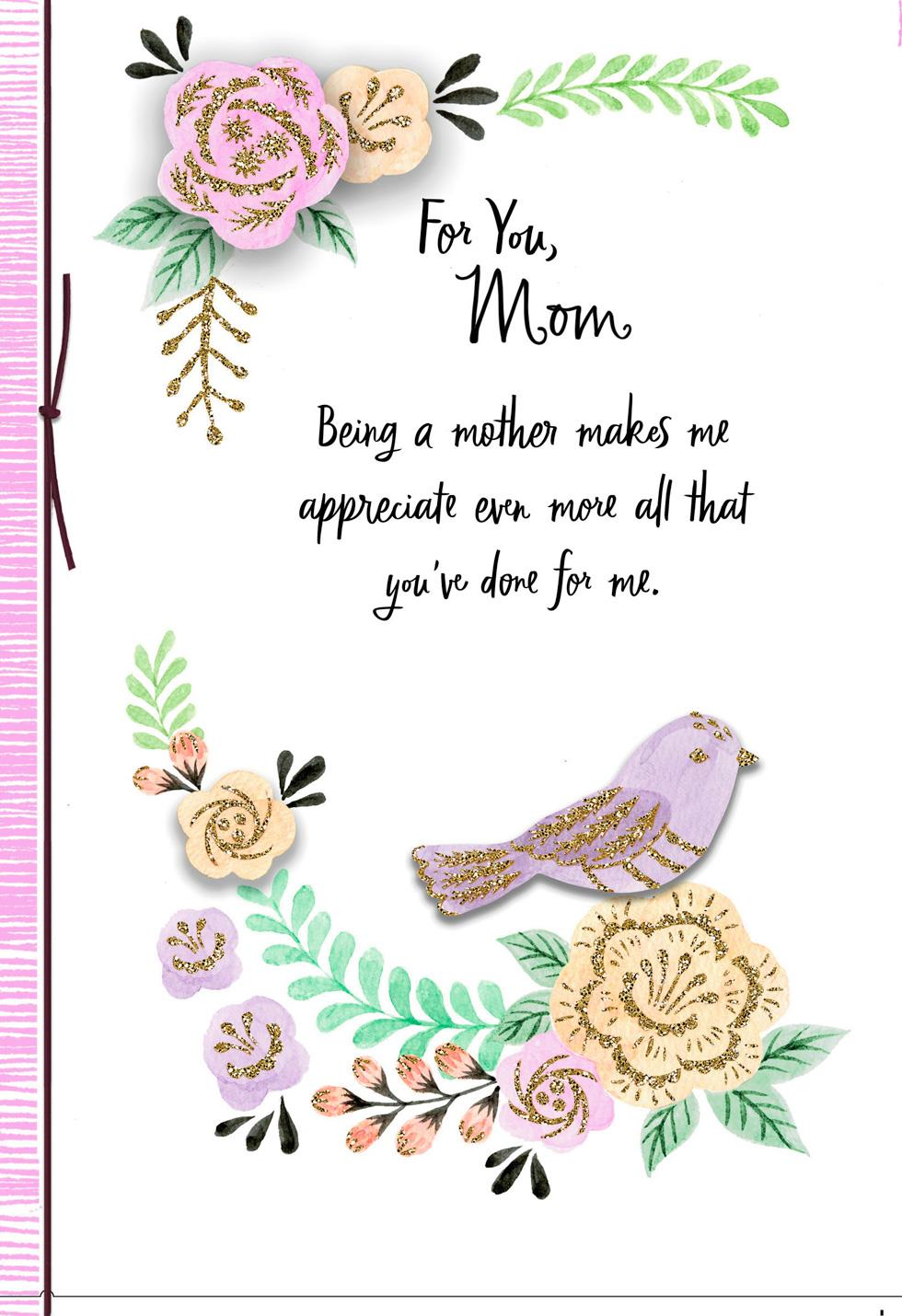 Happiness and love mothers day card from daughter greeting cards happiness and love mothers day card from daughter m4hsunfo