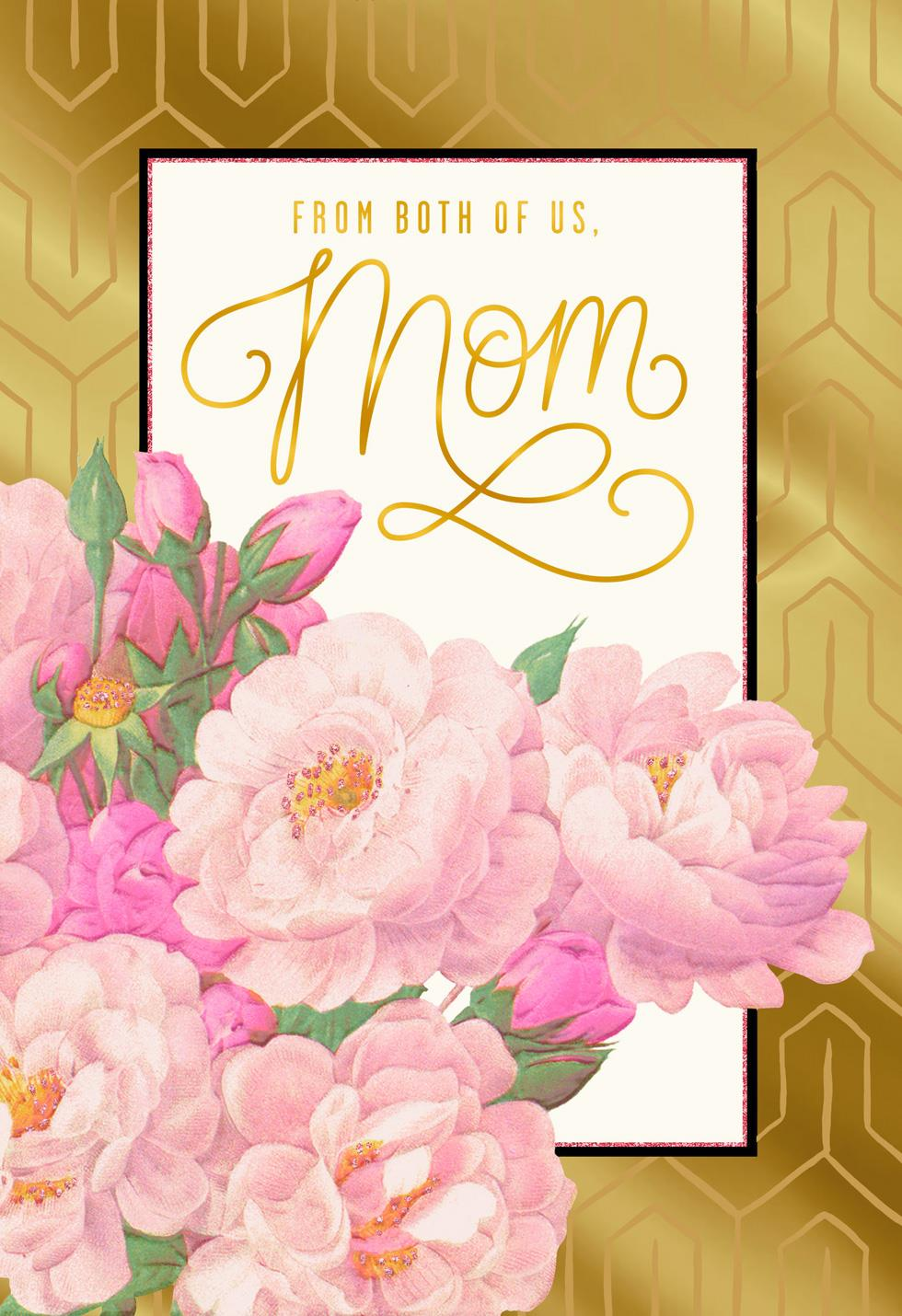 Your Love Is A Gift Mom Valentine S Day Card From Both Greeting