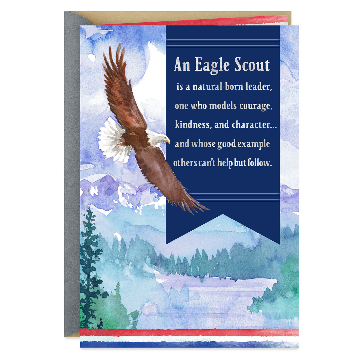 image relating to Eagle Scout Congratulations Card Printable referred to as A Fashion of Individuality Eagle Scout Congratulations Card