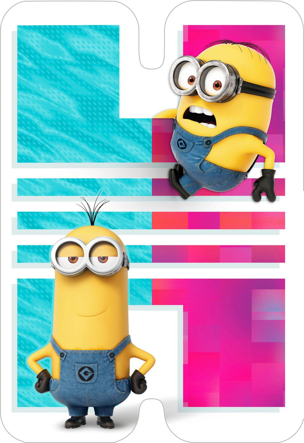 Despicable Me Minions Happy Day Birthday Card Greeting Cards – Despicable Me Birthday Card