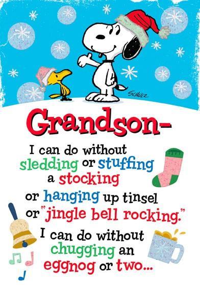 Snoopy A Grandson Like You Greeting Cards Hallmark