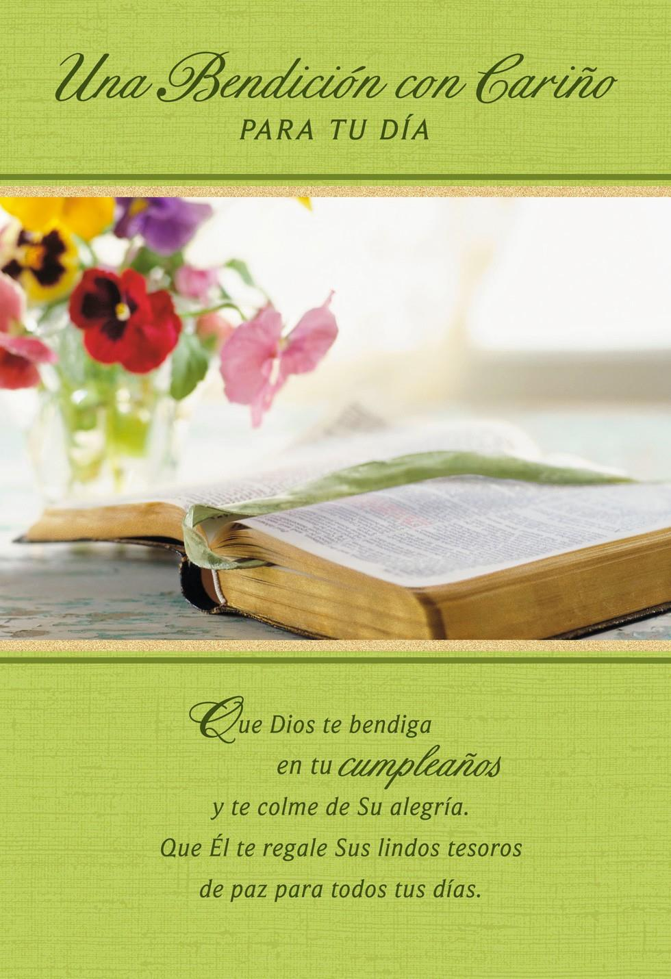Blessings And Best Wishes Religious Birthday Card