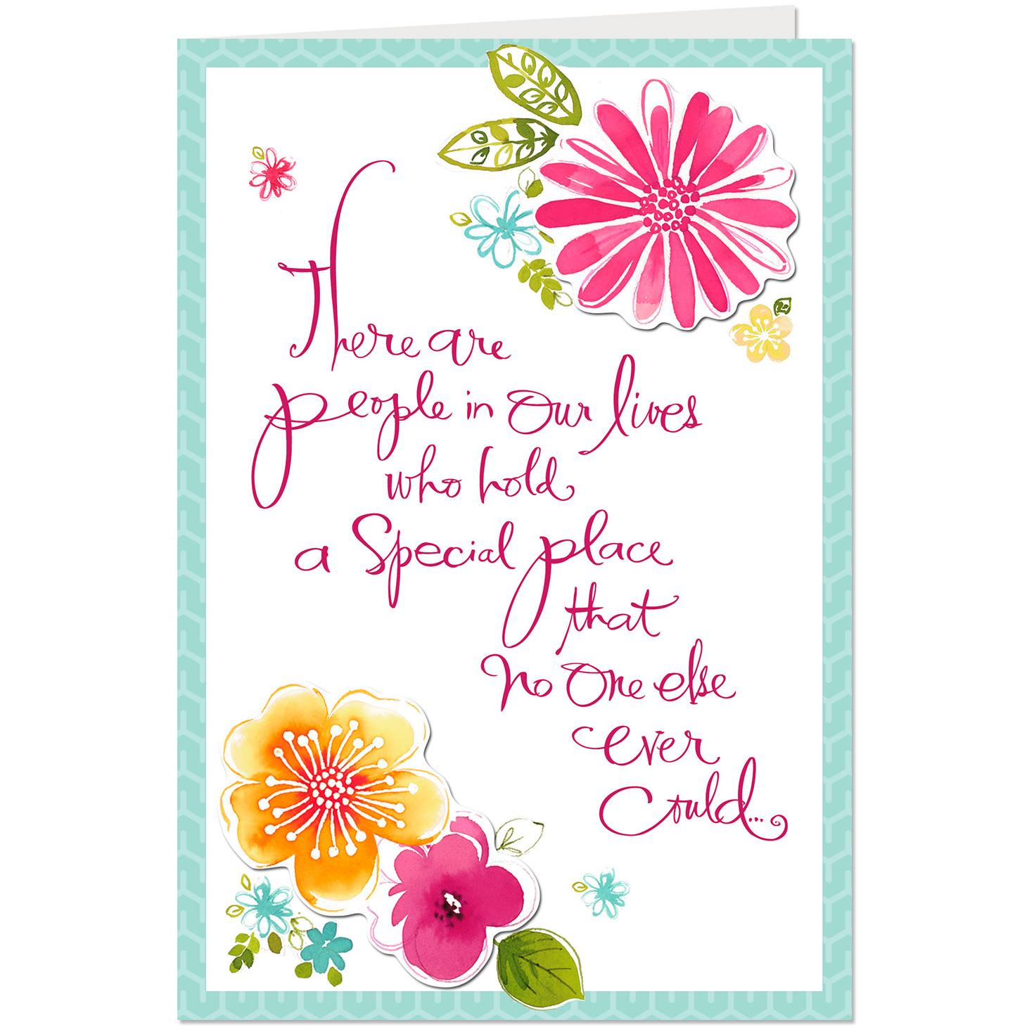 For A Dear Friend Birthday Card