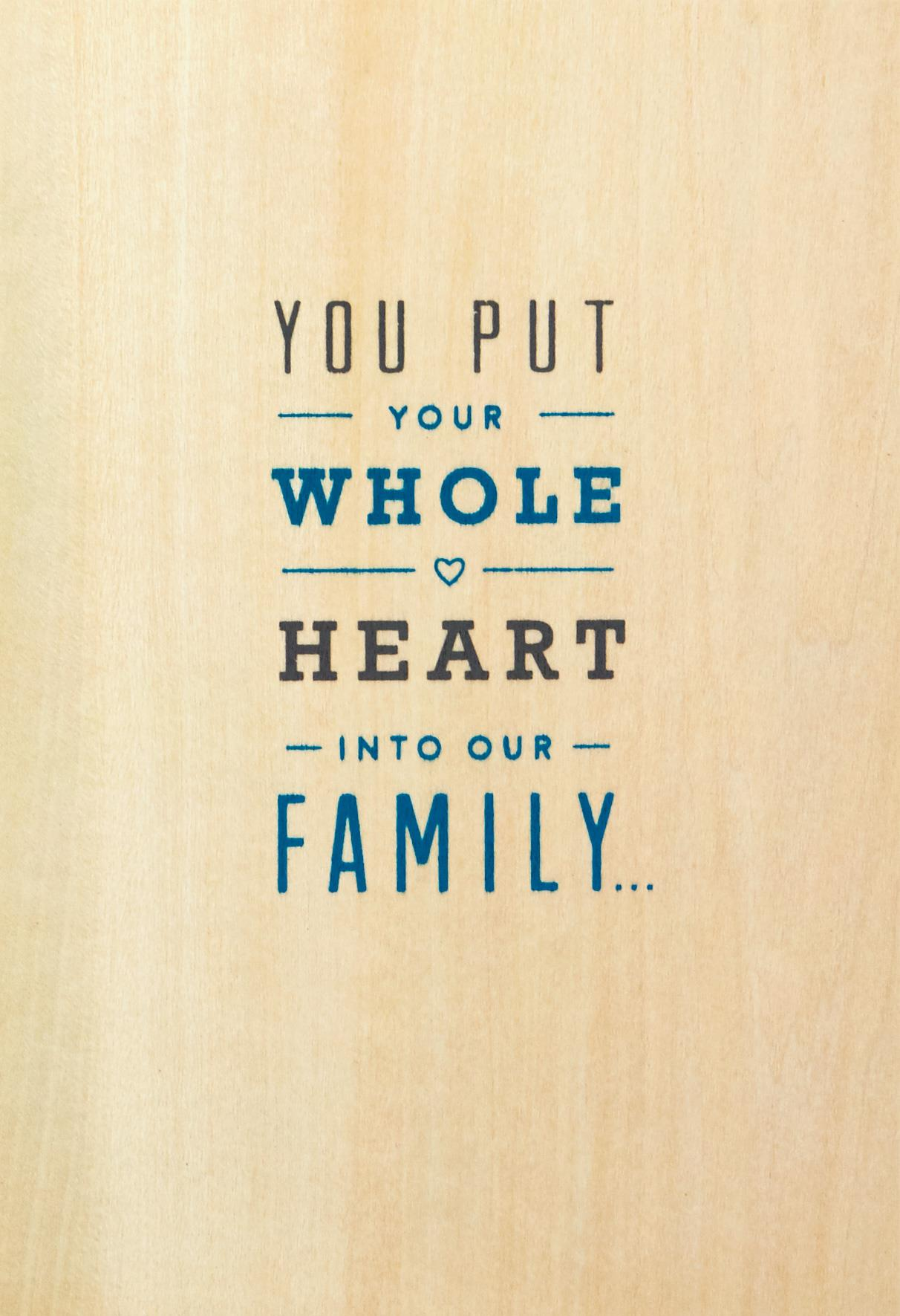 Your whole heart fathers day card for husband greeting cards your whole heart fathers day card for husband m4hsunfo
