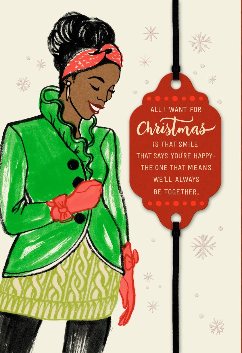 All I Want Is You Christmas Card - Greeting Cards - Hallmark