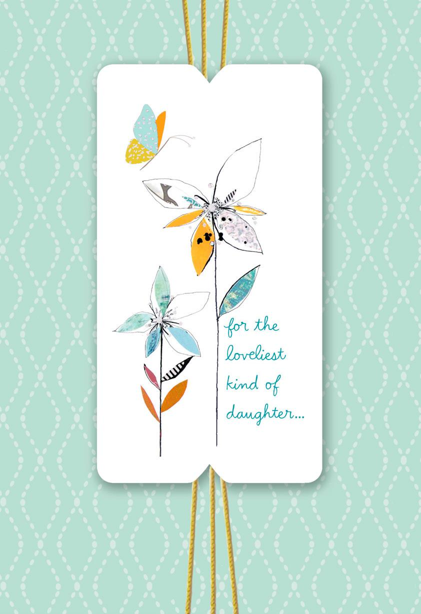 Loveliest And Sweetest Birthday Card For Daughter Greeting Cards