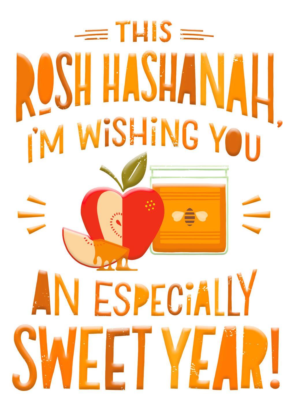 A Super Sweet Year Funny Rosh Hashanah Card Greeting Cards Hallmark
