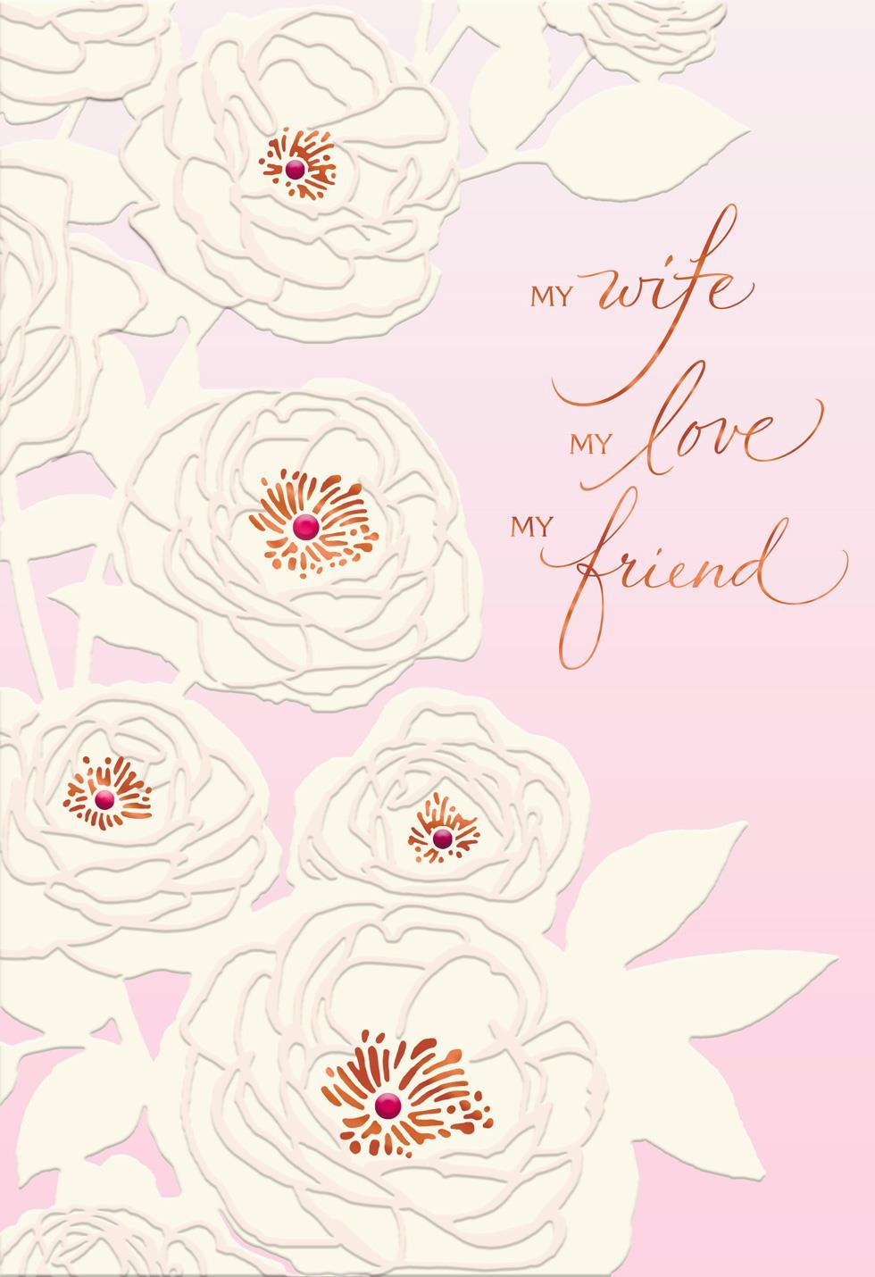 My Love Best Friend Birthday Card For Wife