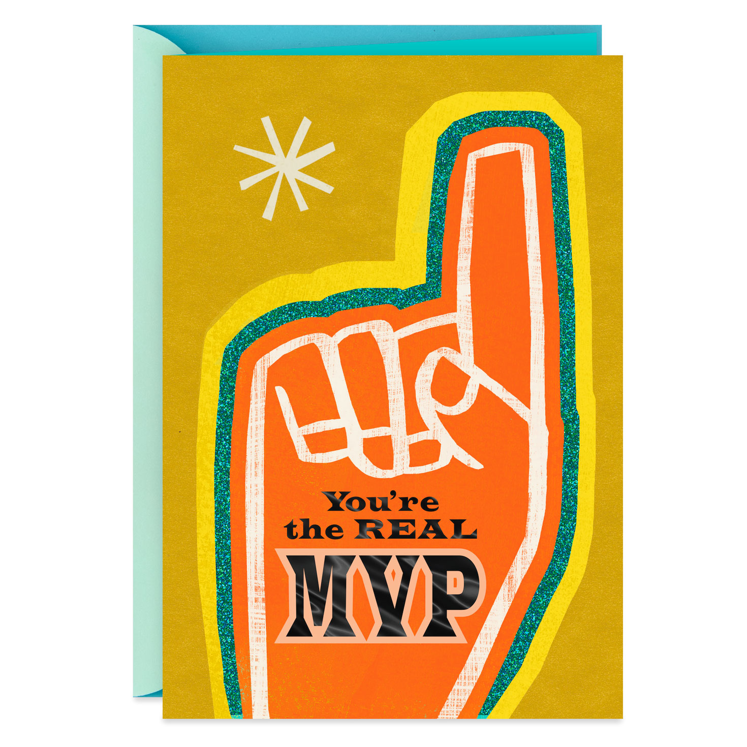 The Real MVP Thank You Card