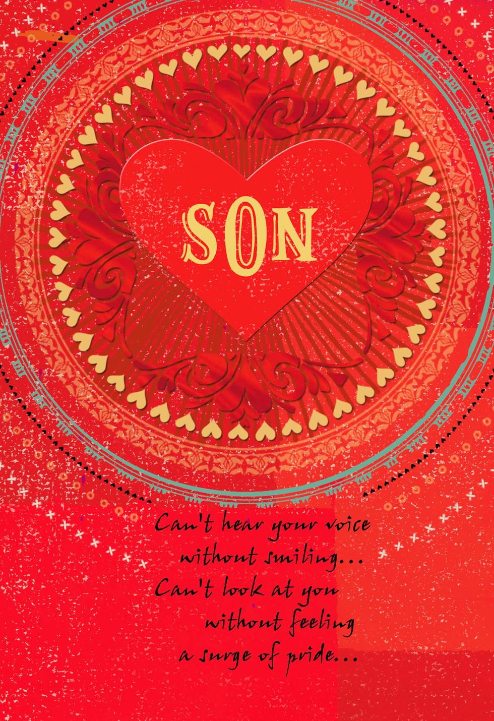 Son You Are Loved Valentines Day Card Greeting Cards Hallmark