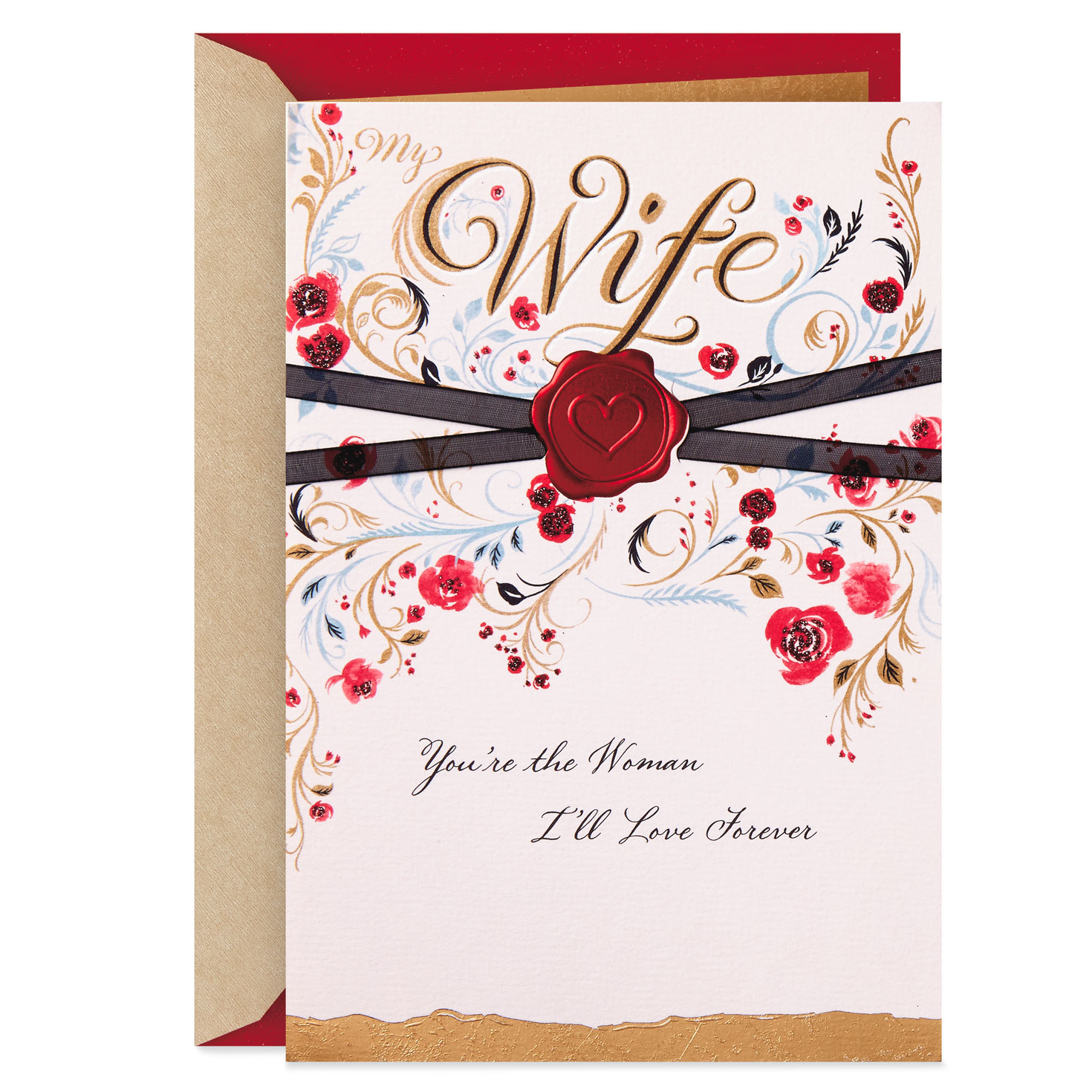more than my wife valentine's day card  greeting cards