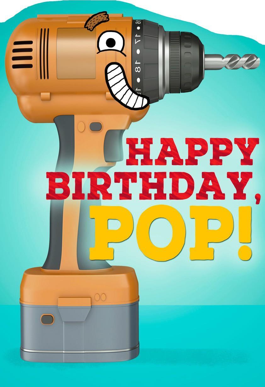 Drill Bit Birthday Card For Dad Greeting Cards Hallmark