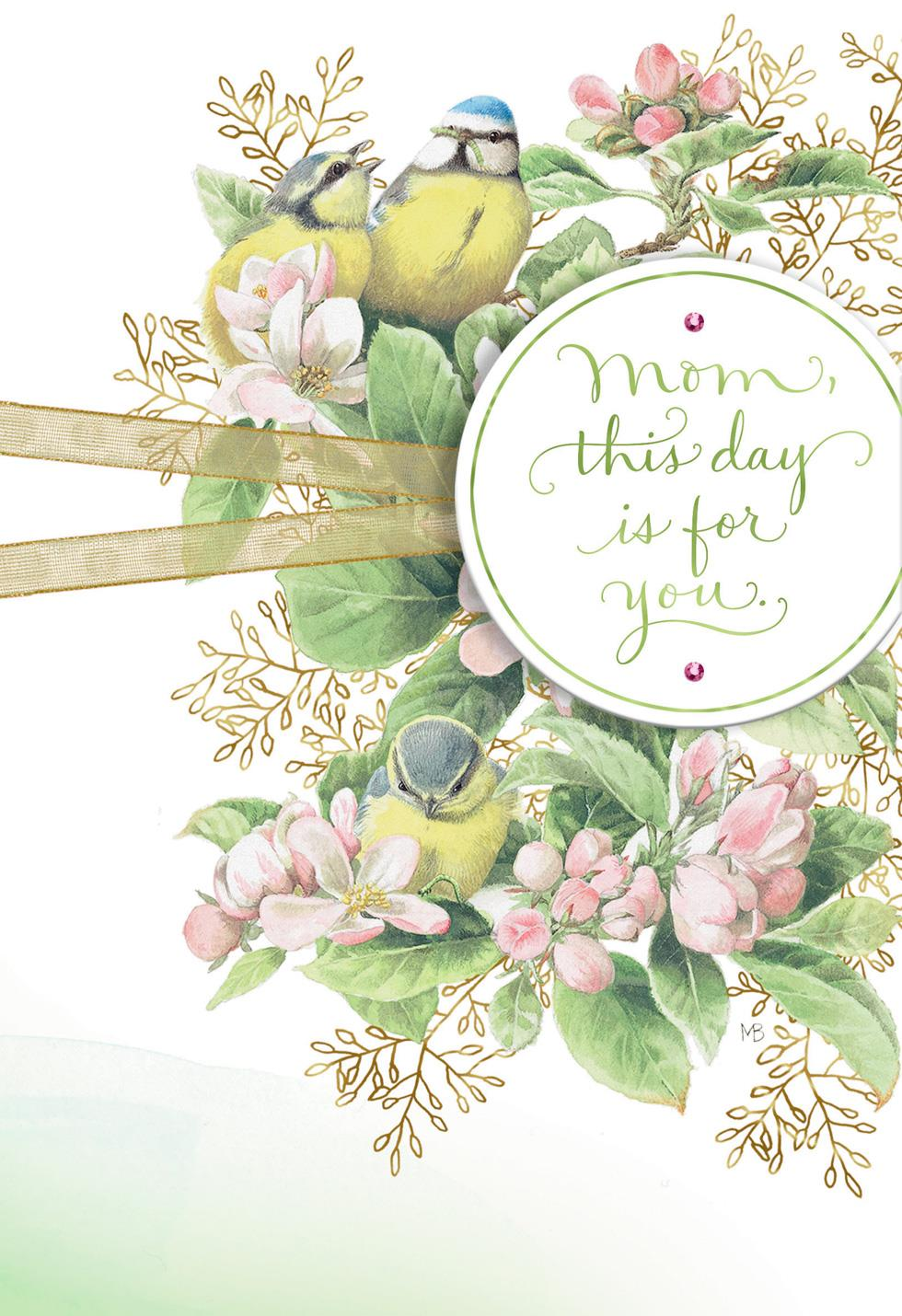 Marjolein bastin this day is for you mothers day card greeting marjolein bastin this day is for you mothers day card m4hsunfo
