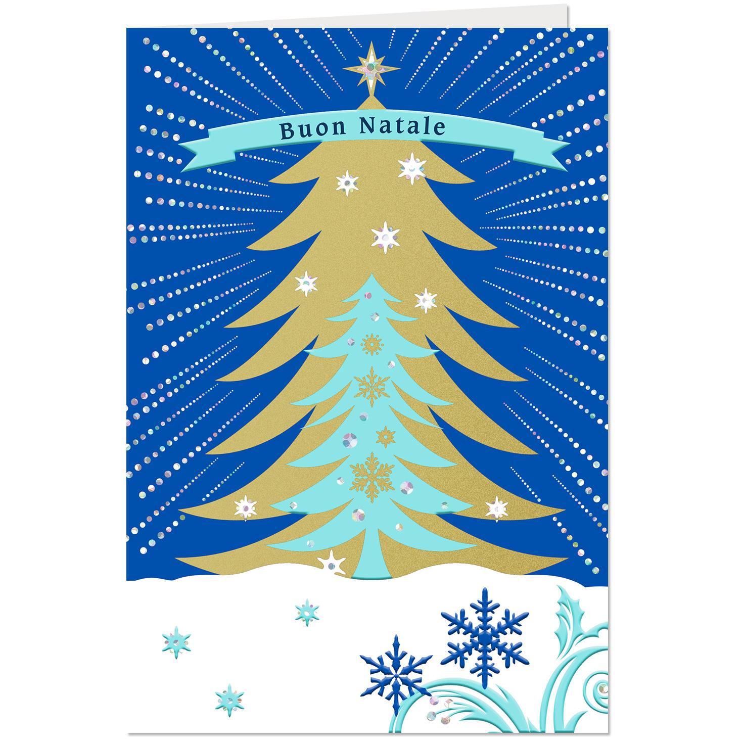 Buon natale italian language christmas card greeting cards hallmark buon natale italian language christmas card m4hsunfo