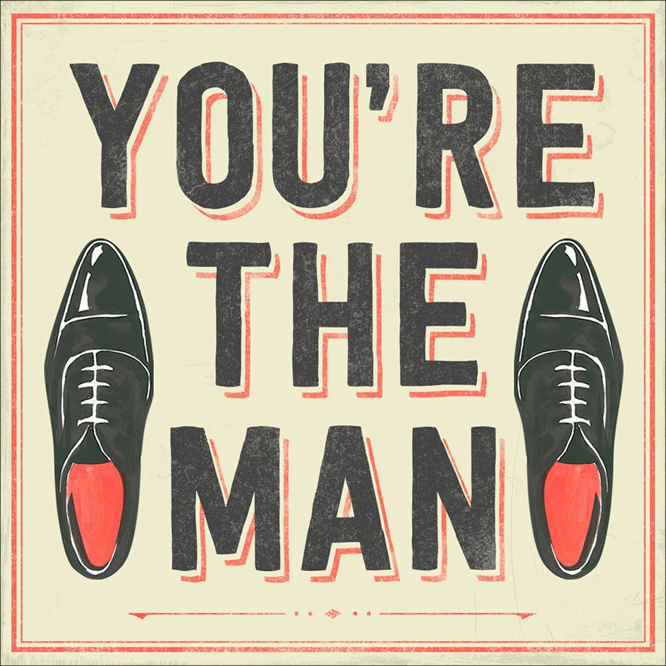 Youre the Man Musical Birthday Card Greeting Cards Hallmark – Birthday Card for a Man
