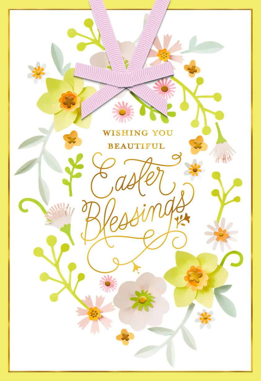 Beautiful Blessings Religious Easter Card Greeting Cards Hallmark