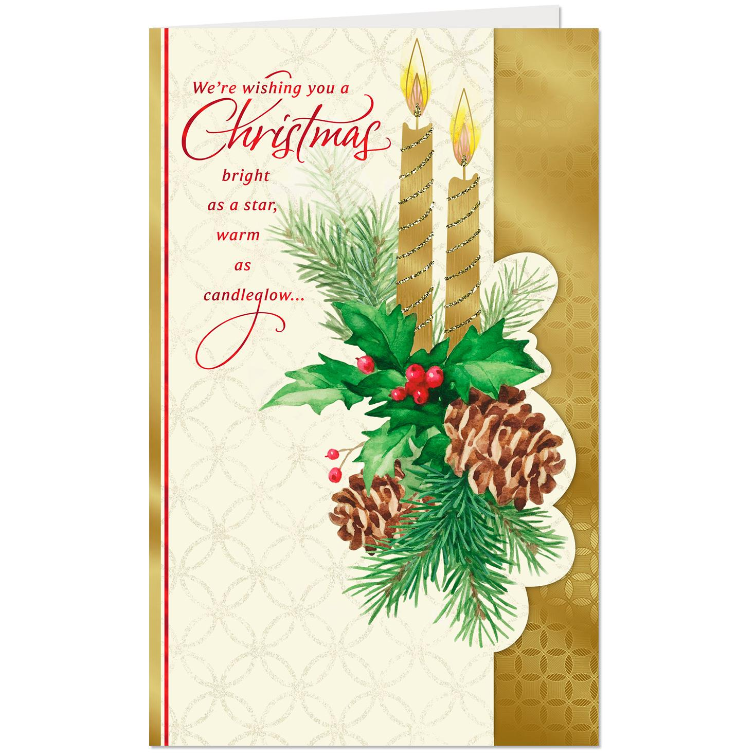A Season Filled With Love Family And Friends Christmas Card
