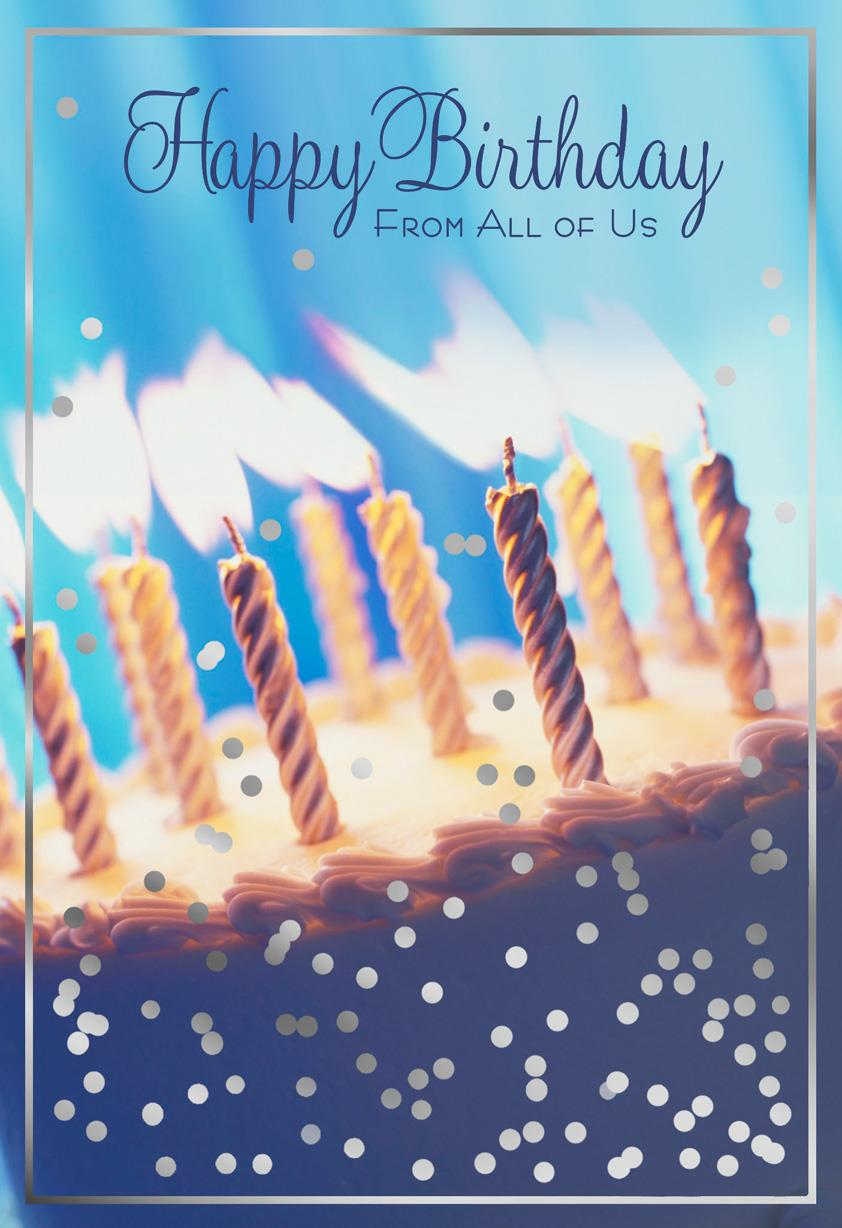 Food Fun And Happy Birthday Card From All Of Us Greeting Cards Hallmark