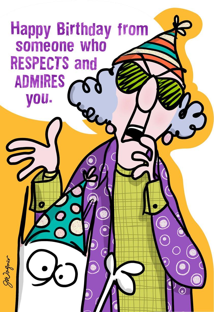 Respectful Admiration Funny Birthday Card Greeting Cards Hallmark – Happy Birthday Card Hallmark