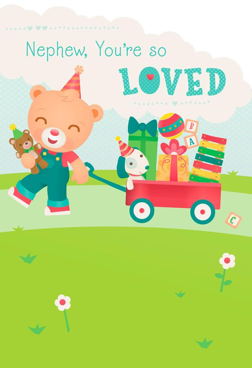 Nephew youre so loved birthday card greeting cards hallmark nephew youre so loved birthday card bookmarktalkfo Image collections