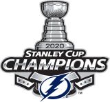 NHL Tampa Bay Lightning® 2020 Stanley Cup® Champions Hockey Ornament, , licensedLogo